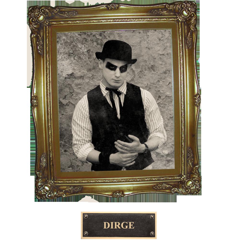 Dirge bandpage