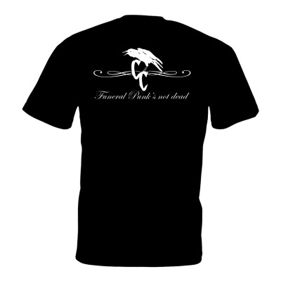 CC Funeral Punk T-shirt Back